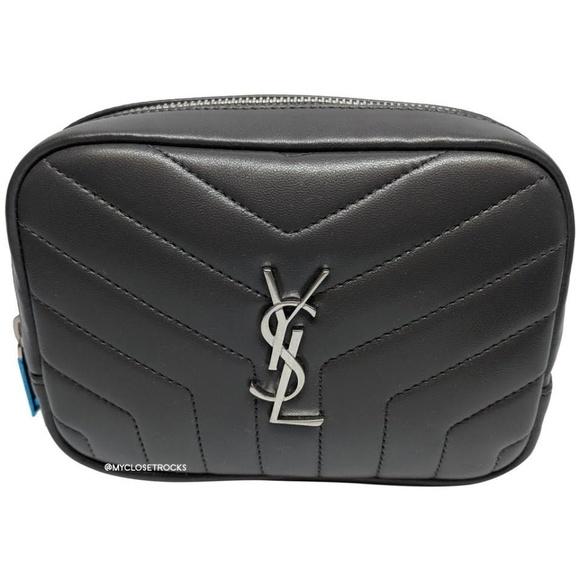 Yves Saint Laurent Handbags - SOLD Saint Laurent Grey Loulou Cosmetic Case